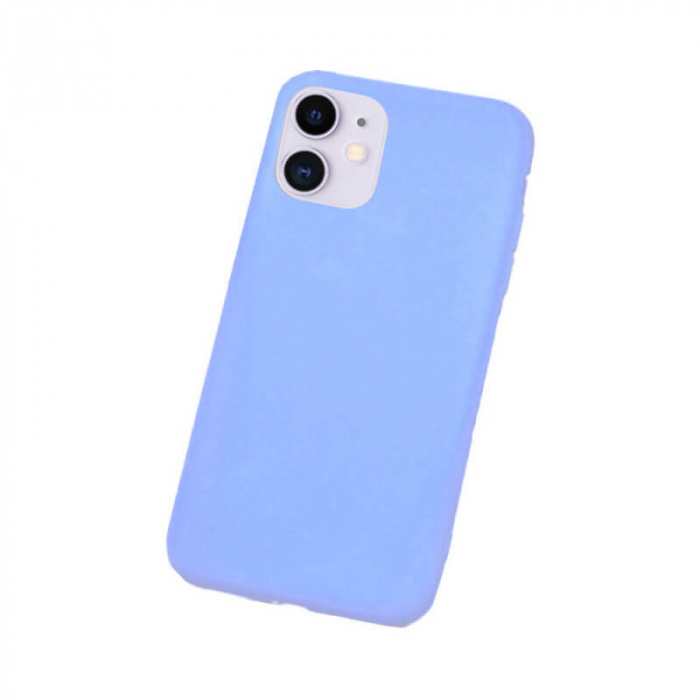 Husa Apple iPhone 12 Mini Bleu Silicon Slim Atlas Ice [0]