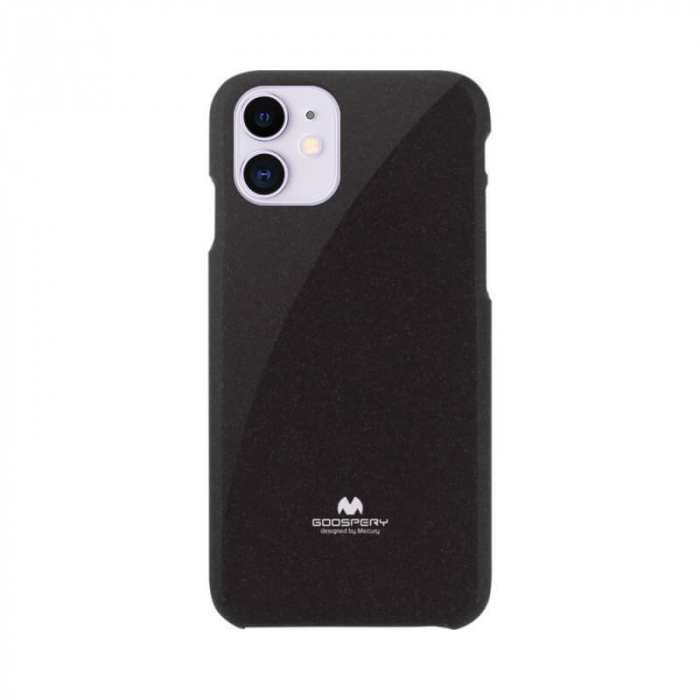 Husa Apple iPhone 12 Negru Mercury Jelly 0