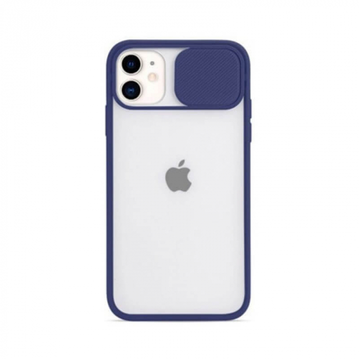 Husa Apple iPhone 12 Pro Albastru Silicon Antisoc Kia [0]