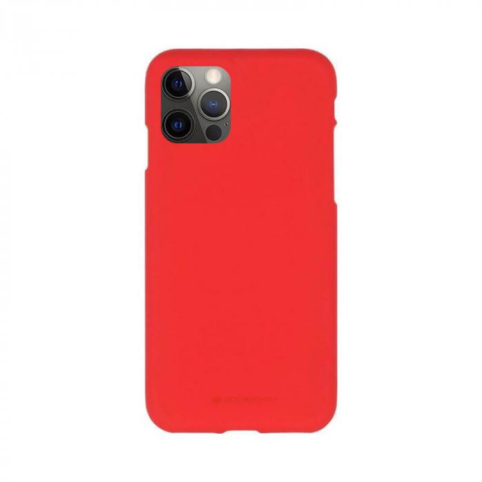 Husa Apple iPhone 12 Pro Max Rosu Jelly Soft 0