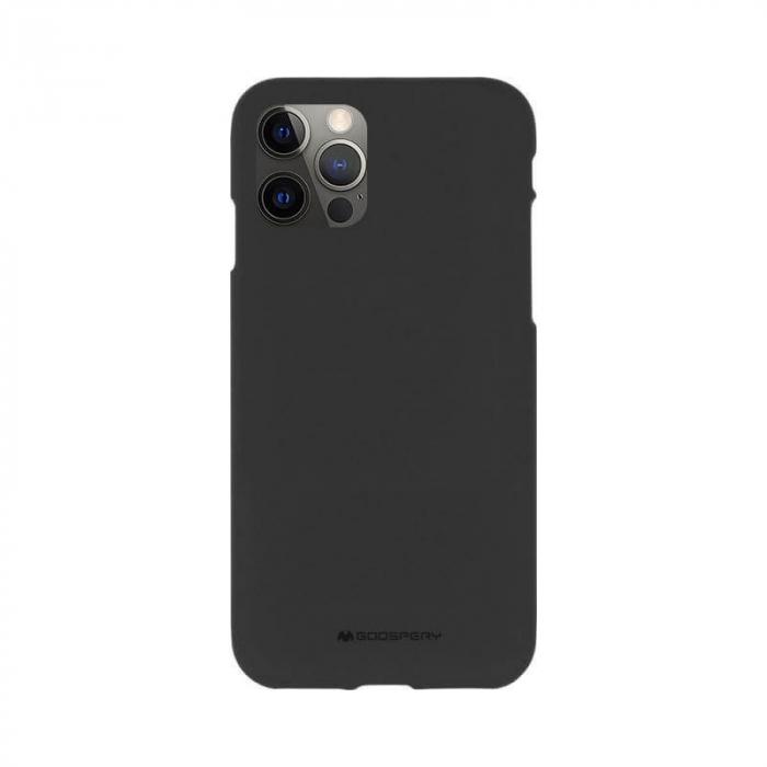 Husa Apple iPhone 12 Pro Negru Jelly Soft 0
