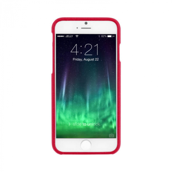 Husa Apple iPhone 12 Rosu Mercury Jelly 1