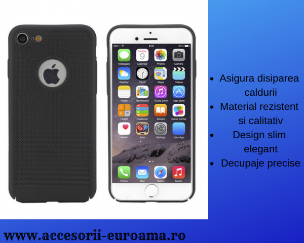 Husa Apple iPhone 5 / 5S  Perforata PC Hollow Mesh Policarbonat 4