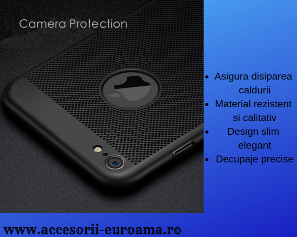 Husa Apple iPhone 5 / 5S  Perforata PC Hollow Mesh Policarbonat 1