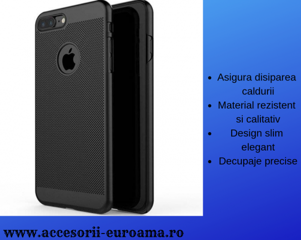 Husa Apple iPhone 5 / 5S  Perforata PC Hollow Mesh Policarbonat 2