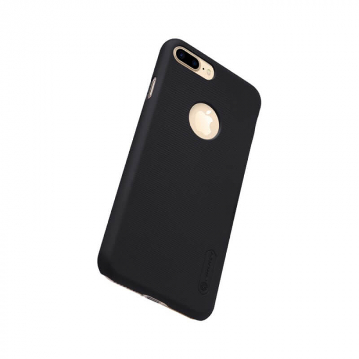 Husa Silicon iPhone 8 Plus Negru Nillkin Frosted 2