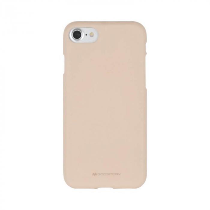 Husa Apple iPhone X Rosegold Jelly Soft 0
