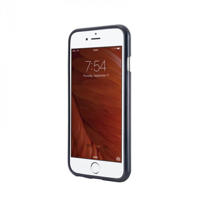 Husa Apple iPhone XS Negru Jelly Metal 1