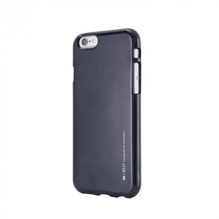 Husa Apple iPhone XS Negru Jelly Metal 0