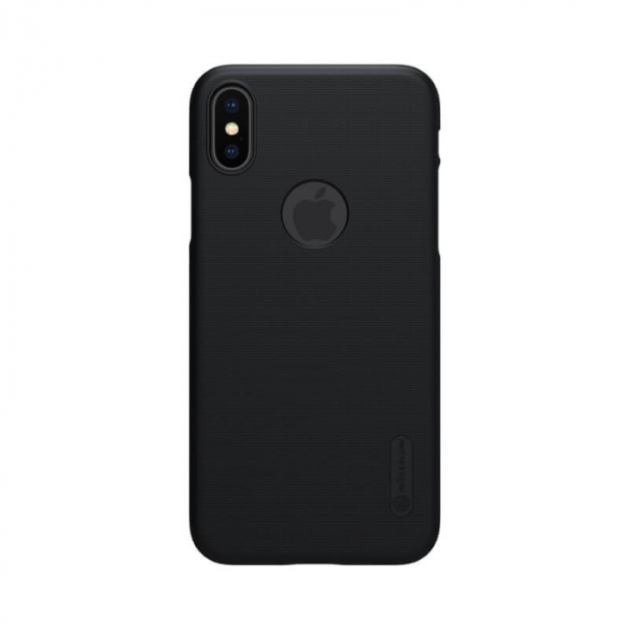 Husa Silicon iPhone XS Negru Nillkin Frosted 0