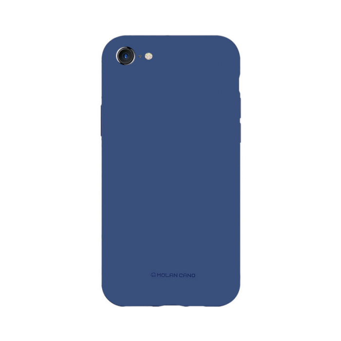 Husa Apple iPhone 8 Silicon Albastru Molan Cano 0