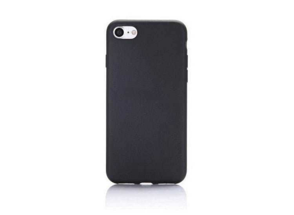 Husa Carcasa Apple iPhone 7 Plus 8 Plus Neagra Silicon Black 2