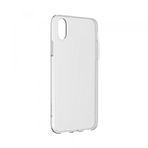 Husa iPhone XS Max Silicon TPU Transparent Ultraslim 0.3mm 0