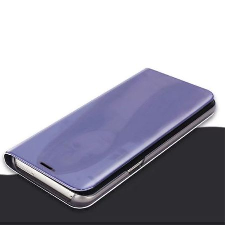 Husa Samsung Galaxy S7 Edge Clear View Flip Standing Cover (Oglinda) Mov (Purple) 2