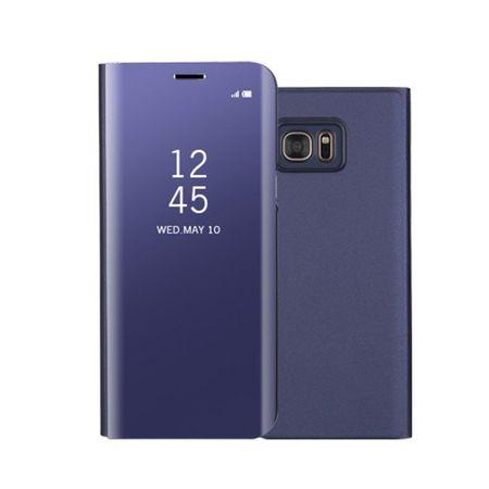 Husa Samsung Galaxy S7 Edge Clear View Flip Standing Cover (Oglinda) Mov (Purple) 0