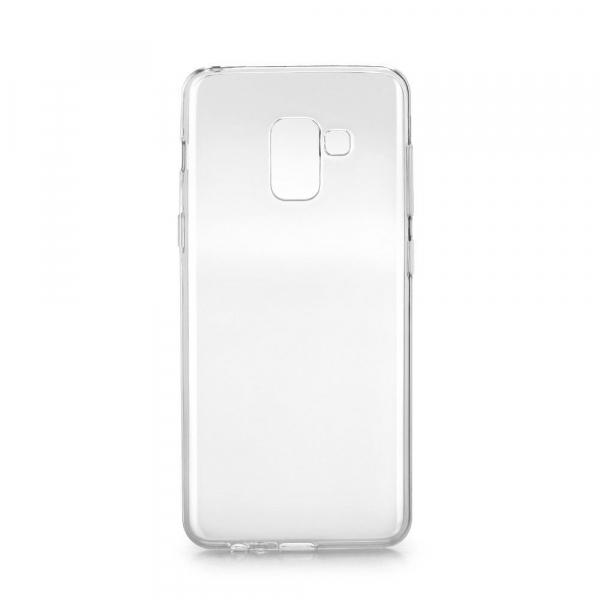 Husa Samsung Galaxy A7 2018 Silicon TPU Transparent Ultraslim 0.3mm 0