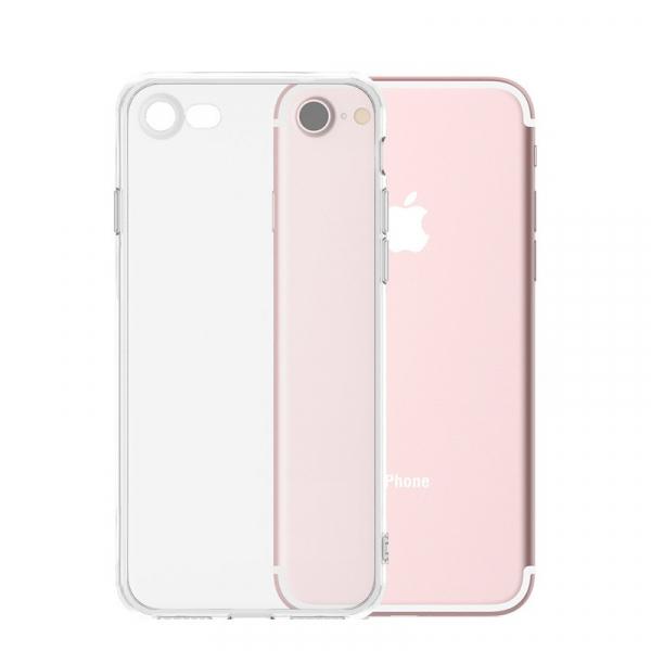 Husa iPhone 7 / iPhone 8 Silicon TPU Transparent Ultraslim 0.3mm 0