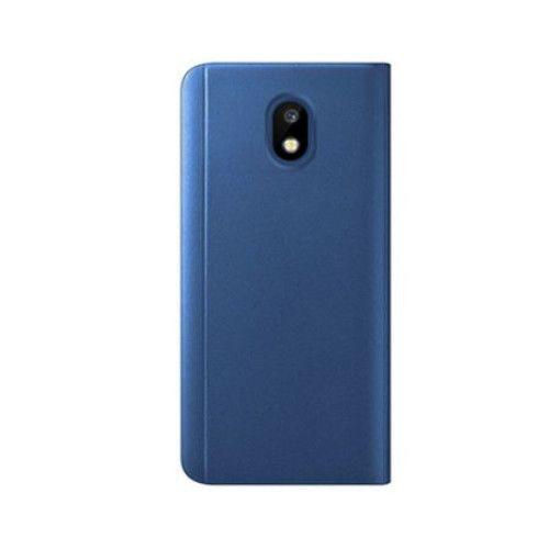 Husa Samsung Galaxy J5 2017 Clear View Flip Standing Cover (Oglinda) Albastra (Blue) 2