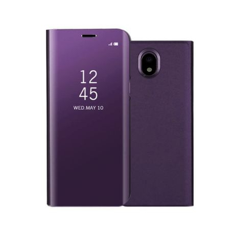 Husa Samsung Galaxy J7 2017 Clear View Flip Standing Cover (Oglinda) Mov (Purple) 0