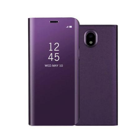 Husa Samsung Galaxy J7 2018 Clear View Flip Standing Cover (Oglinda) Mov (Purple)