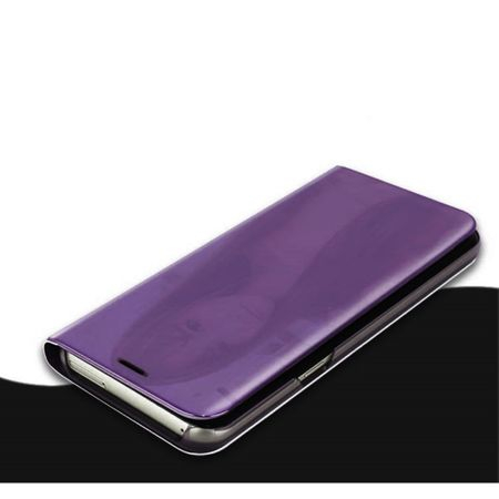 Husa Samsung Galaxy J7 2017 Clear View Flip Standing Cover (Oglinda) Mov (Purple) 1