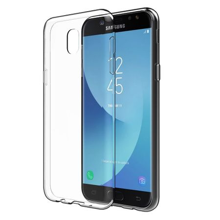 Husa Samsung Galaxy J7 Pro Silicon TPU Transparent Ultraslim 0.3mm 0