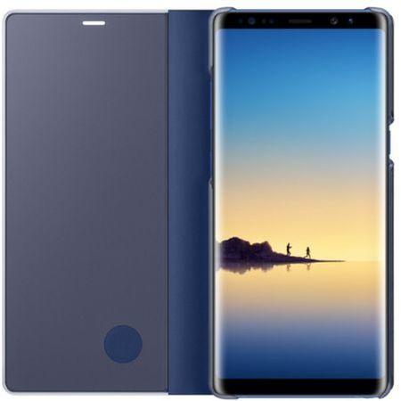 Husa Samsung Galaxy Note 8 Clear View Flip Standing Cover (Oglinda) Albastru (Blue) 1
