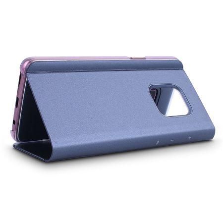 Husa Samsung Galaxy S9 Clear View Flip Standing Cover (Oglinda) Mov (Purple)