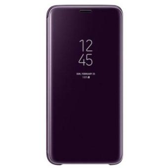 Husa Samsung Galaxy S7 Clear View Flip Standing Cover (Oglinda) Mov (Purple) 0