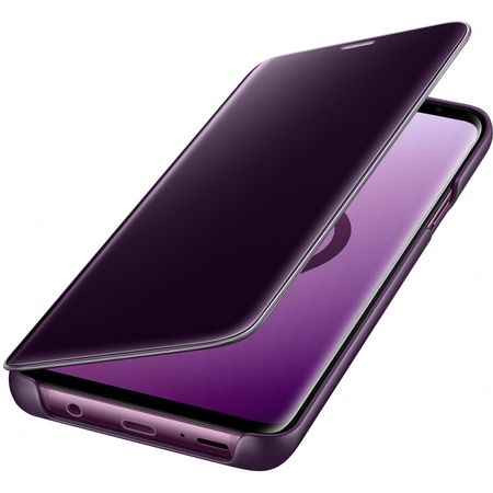 Husa Samsung Galaxy S9 Plus Clear View Flip Standing Cover (Oglinda) Mov (Purple) 1