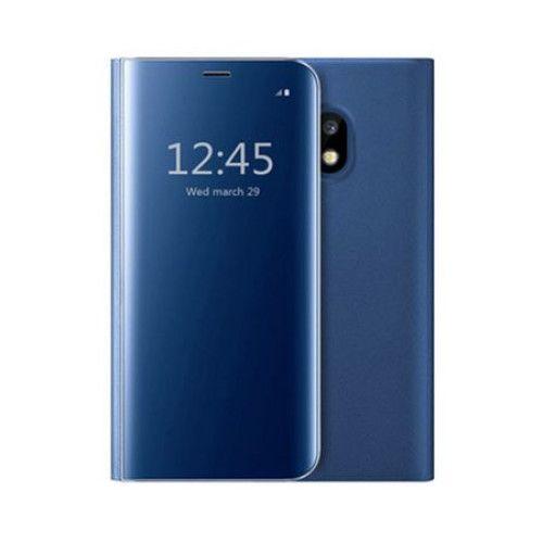 Husa Samsung Galaxy J5 2017 Clear View Flip Standing Cover (Oglinda) Albastra (Blue) 0