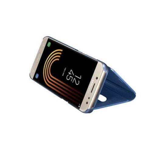 Husa Samsung Galaxy J5 2017 Clear View Flip Standing Cover (Oglinda) Albastra (Blue) 1