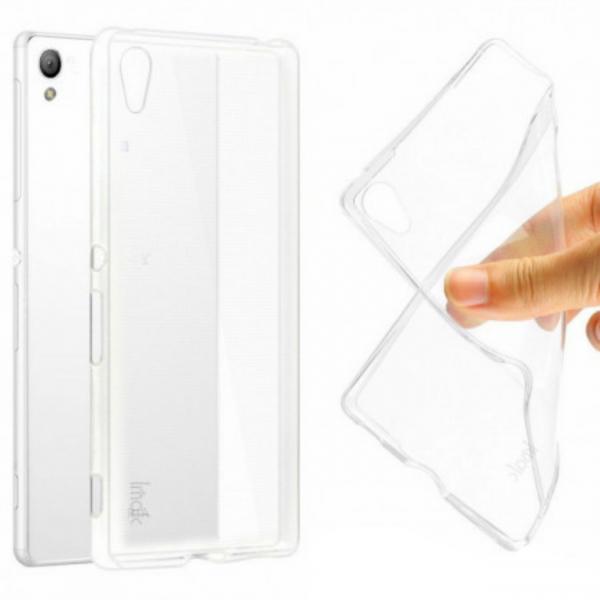Husa Compatibila Sony Xperia M4 Aqua TPU 0.3 mm, transparent 0