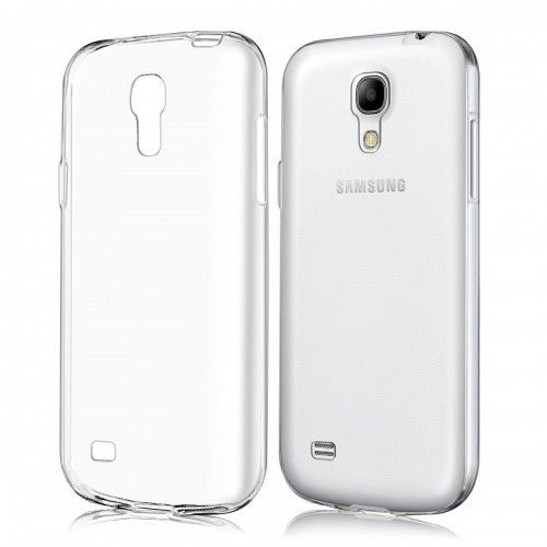 Husa Samsung Galaxy S4 Mini Silicon TPU Transparent Ultraslim 0.3mm 0