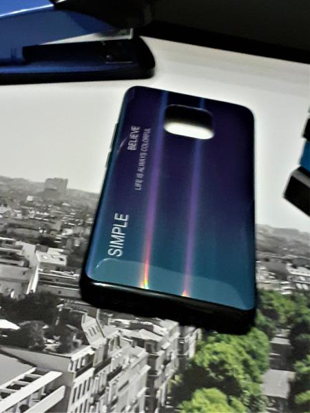Husa de protectie Huawei Mate 20 Pro 2018 Gradient din Silicon TPU Premium + Sticla Securizata [0]