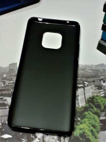 Husa de protectie Huawei Mate 20 Pro 2018 Gradient din Silicon TPU Premium + Sticla Securizata [2]