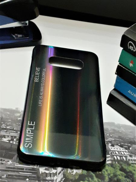 Husa de protectie telefon Samsung Galaxy S10 Lite Gradient din Silicon TPU Premium + Sticla Securizata 0