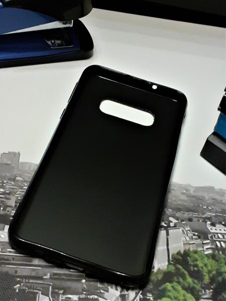 Husa de protectie telefon Samsung Galaxy S10 Lite Gradient din Silicon TPU Premium + Sticla Securizata 2
