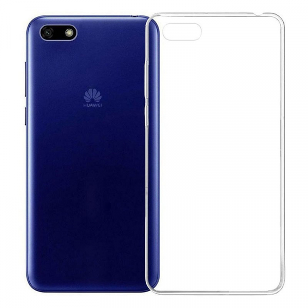 Husa Huawei Y5 2018 / 7/8 E Silicon TPU Transparent Ultraslim 0.3mm 0