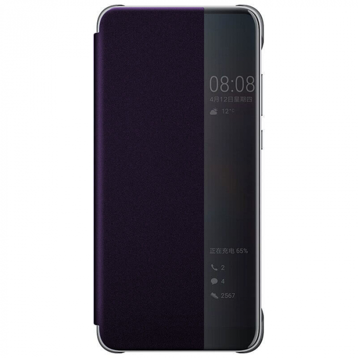 Husa Flip Samsung A20S Mov Tip Carte Art 0