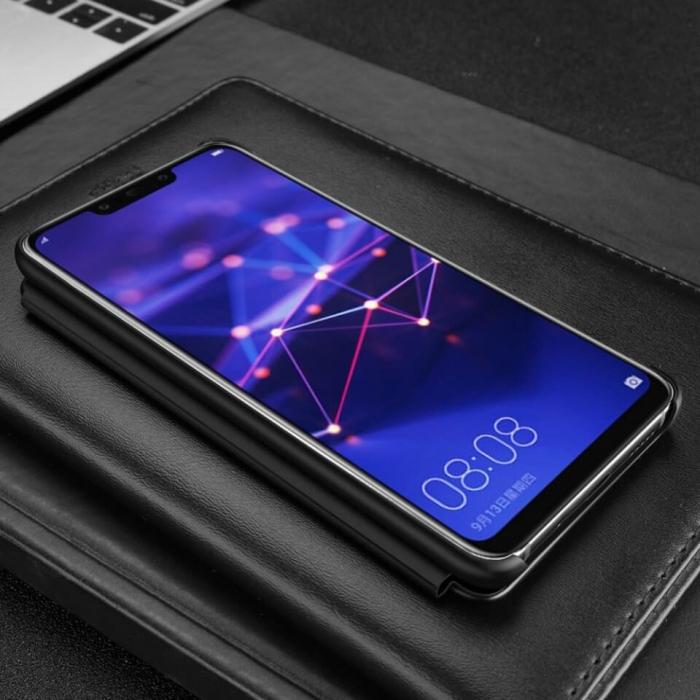 Husa Flip Samsung A42 5G Negru Tip Carte Art 4