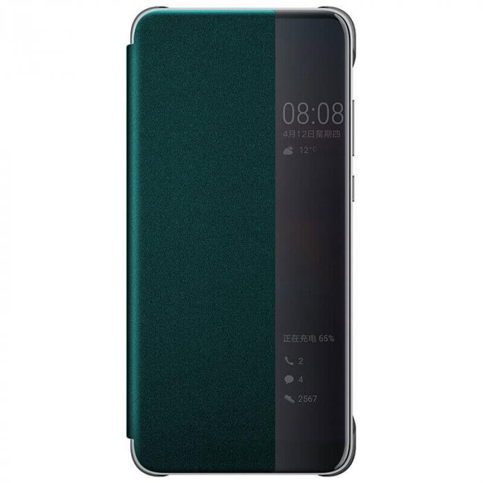 Husa Flip Samsung A42 5G Verde Tip Carte Art 0
