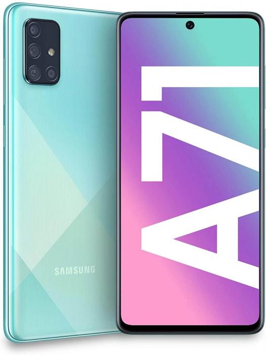 Husa Flip Samsung A71 Negru Tip Carte Art 5