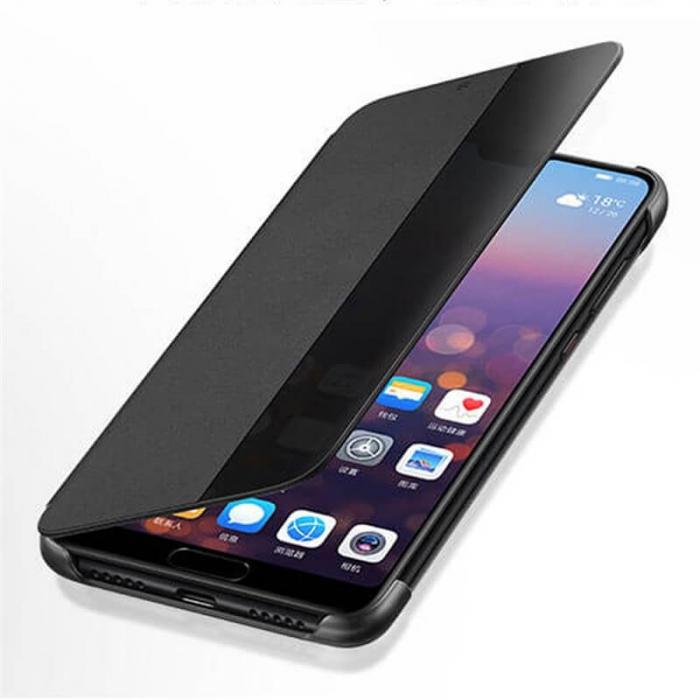 Husa Flip Samsung A71 Negru Tip Carte Art 2