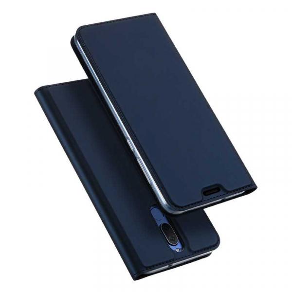 Husa Huawei Mate 10 Lite 2017 Toc Flip Tip Carte Portofel Bleumarin Piele Eco Premium DuxDucis 4