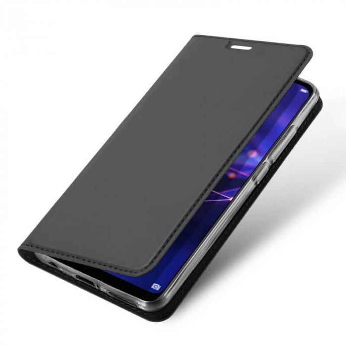 Husa Huawei Mate 20 Lite 2018 Toc Flip Tip Carte Portofel Negru Piele Eco Premium DuxDucis [3]