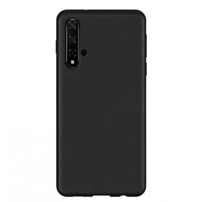 Husa Huawei Nova 5T Negru Silicon Slim protectie Premium Carcasa 3