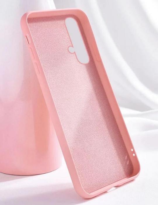 Husa Huawei Nova 5T Roz Silicon Slim protectie Premium Carcasa 0