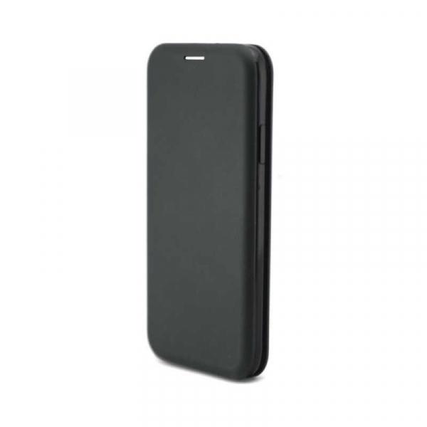 Husa Huawei P20 Lite 2018 Tip Carte Flip Cover din Piele Ecologica Portofel cu Inchidere Magnetica Negru [1]