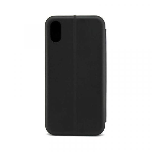 Husa Huawei P20 Lite 2018 Tip Carte Flip Cover din Piele Ecologica Portofel cu Inchidere Magnetica Negru [2]